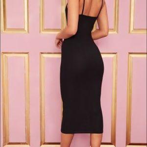 Dresses - Midi Black Dress Size 0